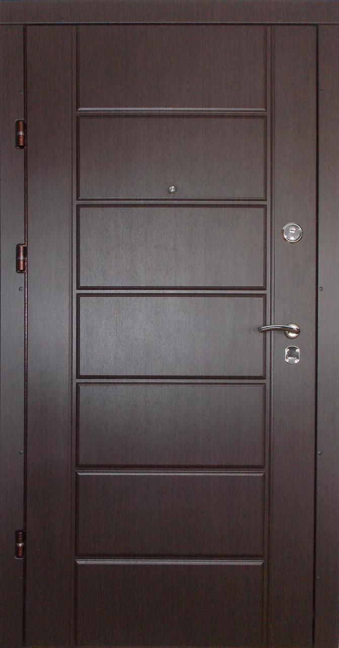 Внутренние входные двери Редфорт Канзас венге в квартиру