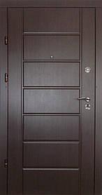 Нружные входные двери Редфорт(Redfort)  Канзас Элит венге ПВХ Винорит на улицу