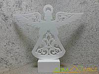 Новогодняя игрушка Ангел №2 35 см. Толщ 1,8см от 5шт