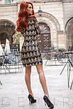Вечернее приталенное платье расшитое пайетками, фото 3