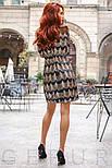 Вечернее приталенное платье расшитое пайетками, фото 4