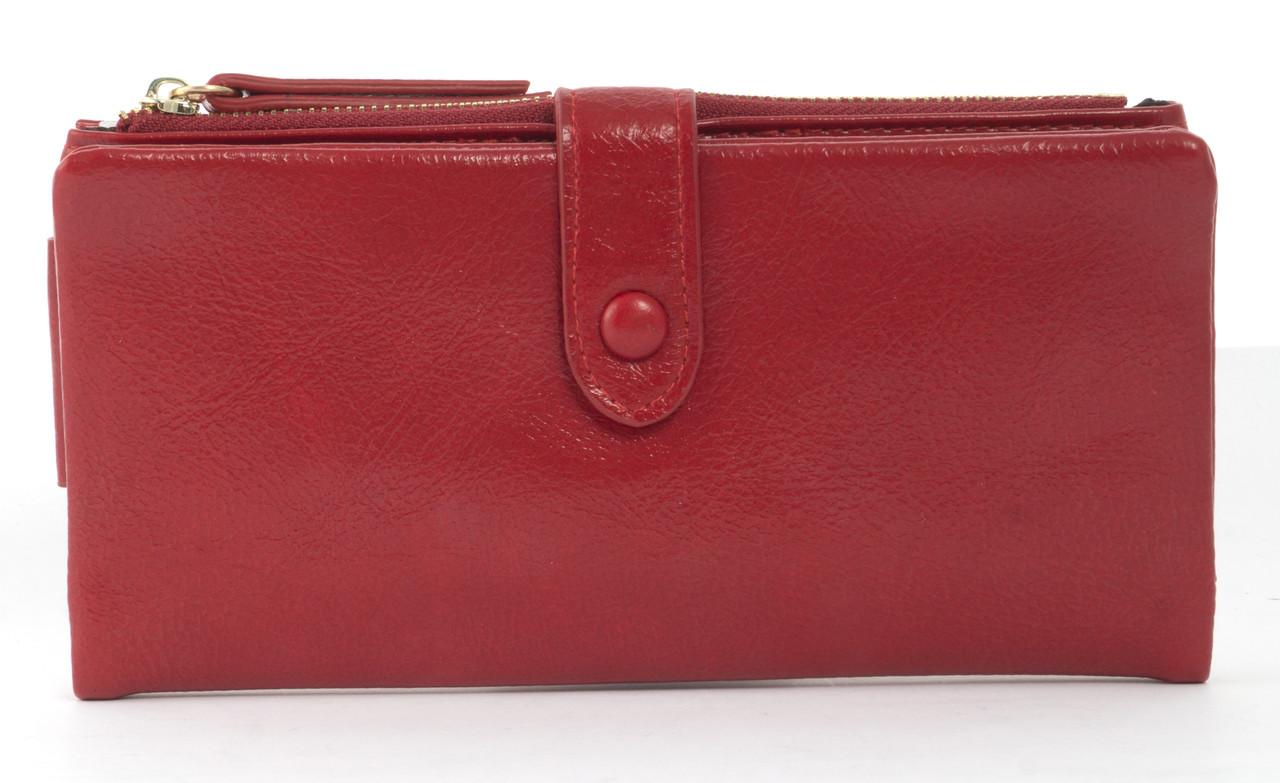 Удобныйженский кошелек барсетка с картхолдеромSaralyn art. 2016 красный, фото 1