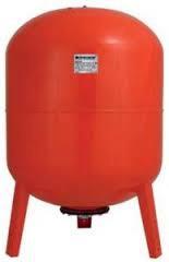Гидроаккумулятор для воды 100  VT Насосы Плюс вертикальный на ножках