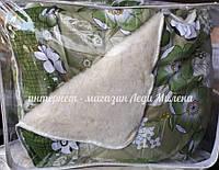 Зимовий двосторонню вовняну ковдру полуторна, фото 1