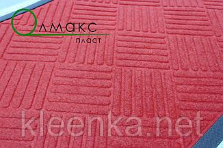 Придверный коврик 40*60 см  красный, фото 2