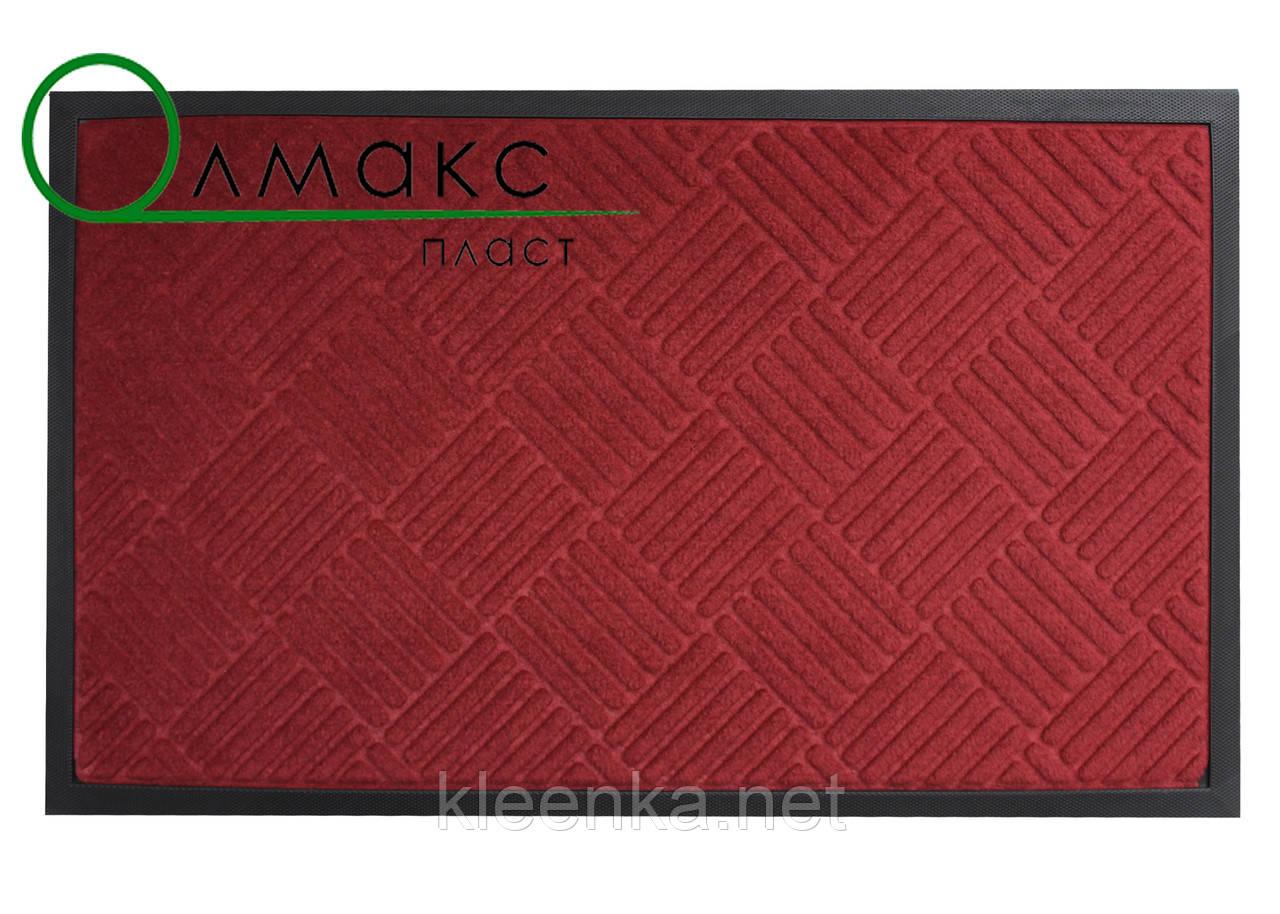 Придверный коврик 40*60 см  красный