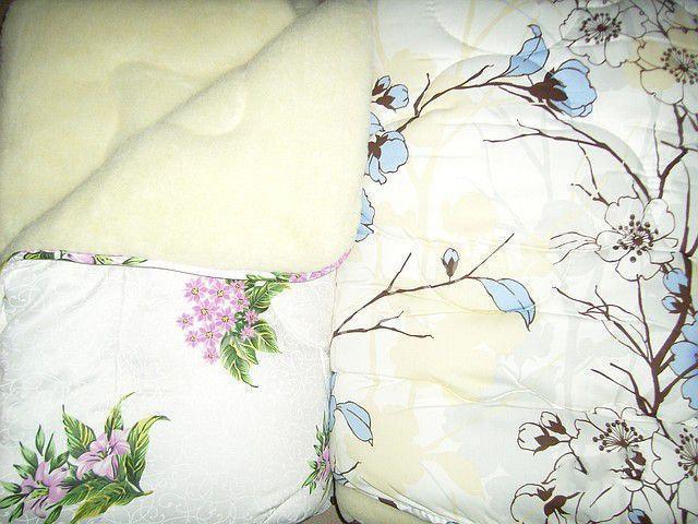 Открытое одеяло овчина полуторное