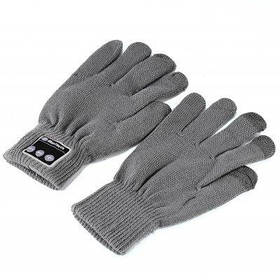 Bluetooth 4.2 EDR Call Touch Screen Unisex Gloves - Серый