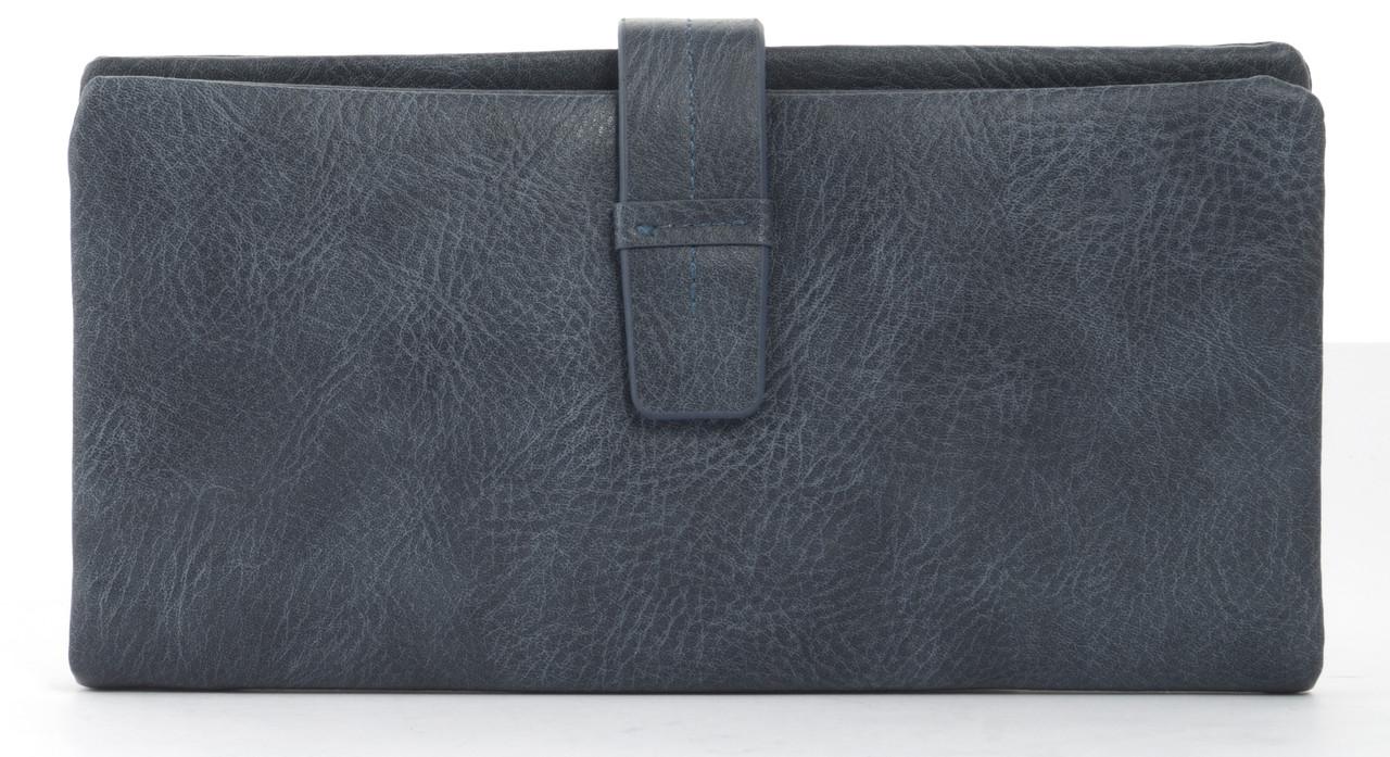 Симпатичный женский кошелек барсетка с картхолдером Saralyn art. J5208 синий