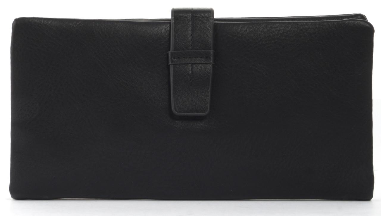 Симпатичный женский кошелек барсеткас картхолдером Saralyn art. J5208 черный