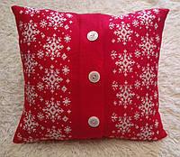 Подушка декоративная новогодняя, фото 1