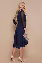 Платье размеры 48 50 52 полномерное с воланом на запах , фото 3