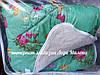 Теплое двухсторонее шерстяное одеяло двухспальное, фото 6