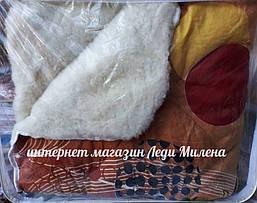 Зимнее одеяло двухспальное с открытым мехом, фото 2