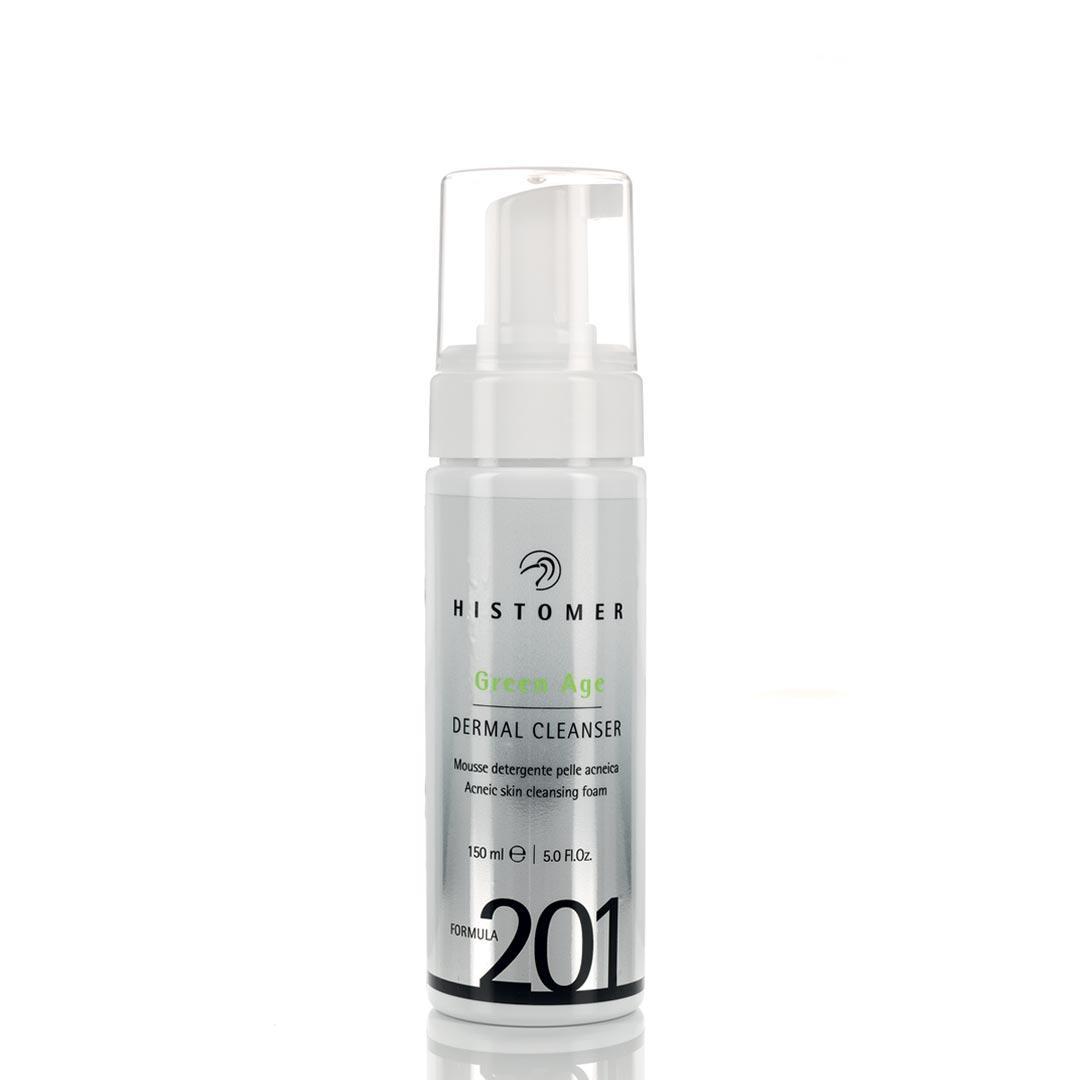 HISTOMER FORMULA 201 GREEN AGE DERMAL CLEANSER Очищающий мусс для проблемной кожи Грин-Эйдж