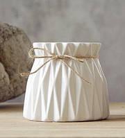 Ваза керамическая небольшая для цветов или декора 9*9*8 см (MC 2805-8)