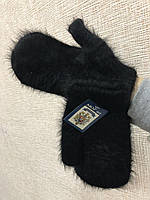 Перчатки, варежки женские зимние из ангоры очень теплые