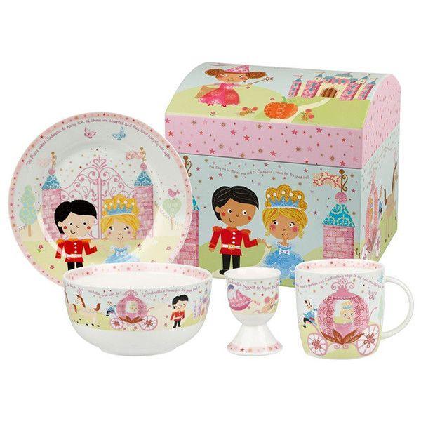 Набор столовый детский в подарочной упаковке Churchill Little Rhymes 4 предмета (CIND00011)