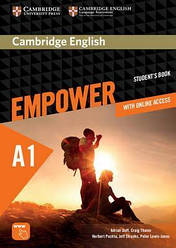 Cambridge English Empower A1 Starter Student's Book with Online Assessment and Practice, and Online WB