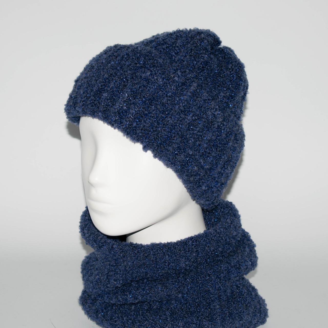 Женский комплект шапка + бафф Booklet (код 00185)