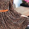 Женское платье с леопардовым прином, размер универсальный SML, фото 8