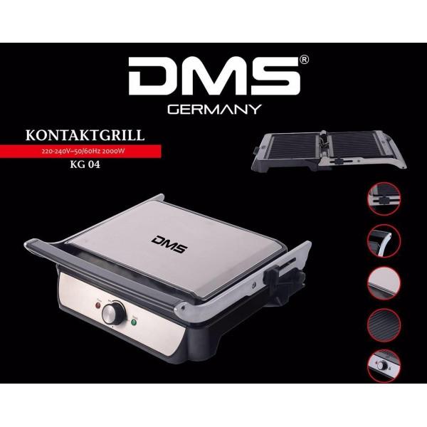Контактный-гриль 2000 Вт DMS KG 04