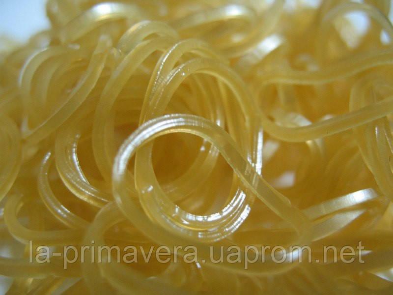Набор золотых резиночек с эффектом металлик для плетения браслетов (Rainbow Loom)