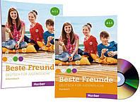 Немецкий язык / Beste Freunde / Kursbuch+Arbeitsbuch+CD. Учебник+Тетрадь (комплект с диском), A1.1 / Hueber