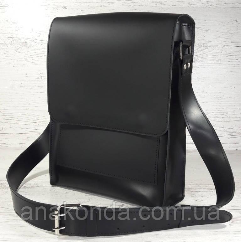 510-XL Натуральная кожа Планшет сумка мужская формат А4 черная кожаная сумка мужская планшет на плечо