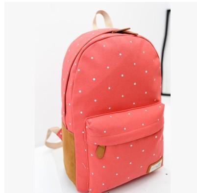 Школьный рюкзак красного цвета 1050
