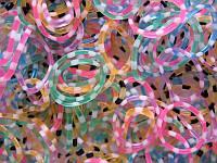 Набор разноцветных леопардовых резиночек для плетения браслетов (Rainbow Loom)