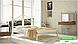 Металлическая кровать Диана на деревянных ножках ТМ «Металл-Дизайн», фото 6