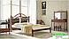 Металлическая кровать Диана на деревянных ножках ТМ «Металл-Дизайн», фото 8