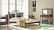 Металлическая кровать Диана на деревянных ножках ТМ «Металл-Дизайн», фото 9