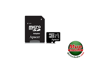 Карта памяти microSDHC 32Gb Apacer Class 10 UHS-I U1 (+ adapter SD) (AP32GMCSH10U1-R)