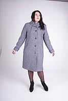 Женское зимнее пальто Л-292 серое