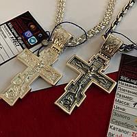 Серебряный крест 925 пробы .19 грамм