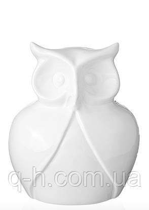 Декоративная фигура совы из керамики 9*13,5*15 см, фото 2