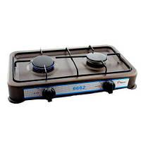 Таганок DOMOTEC MS-6662 Brown 2кф по супер цене! газовая плита, газовый таганок