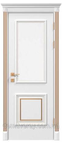 Двери межкомнатные, Родос, Siena, Laura, со стеклом, патина