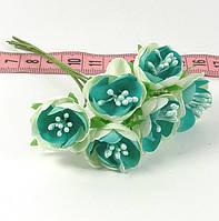 Цветы с тычинками 2 см