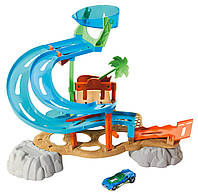 "Hot Wheels ""Ралли водный парк "" Rally Water Park Playset"