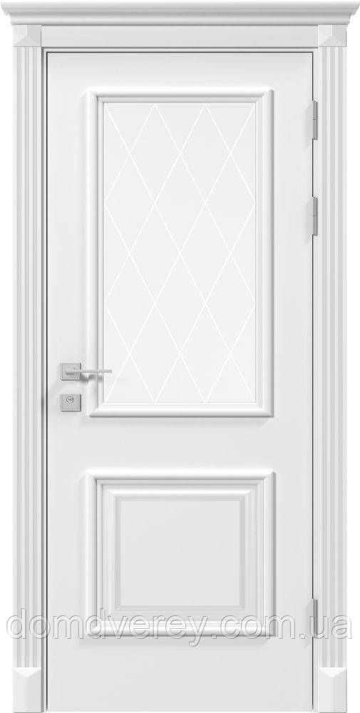 Двери межкомнатные, Родос, Siena, Laura, со стеклом и рисунком