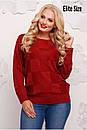 Женский прямой свитер из люрекса 6ba1133, фото 3