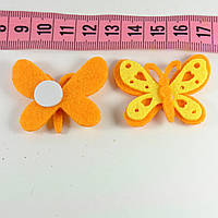 Декор фетр бабочка 4