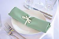 Салфетки зелёные (оливковый)  , фото 1