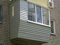 Балкон под ключ с кладовкой