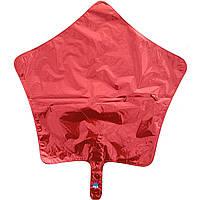 Фольга средняя звезда красная