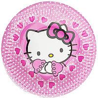 Тарелки бумажные Hello Kitty 10шт.