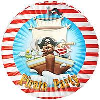 Тарілки паперові Пірати-2 10шт.